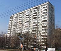 Остекление балкона в доме серии 1мг-601.